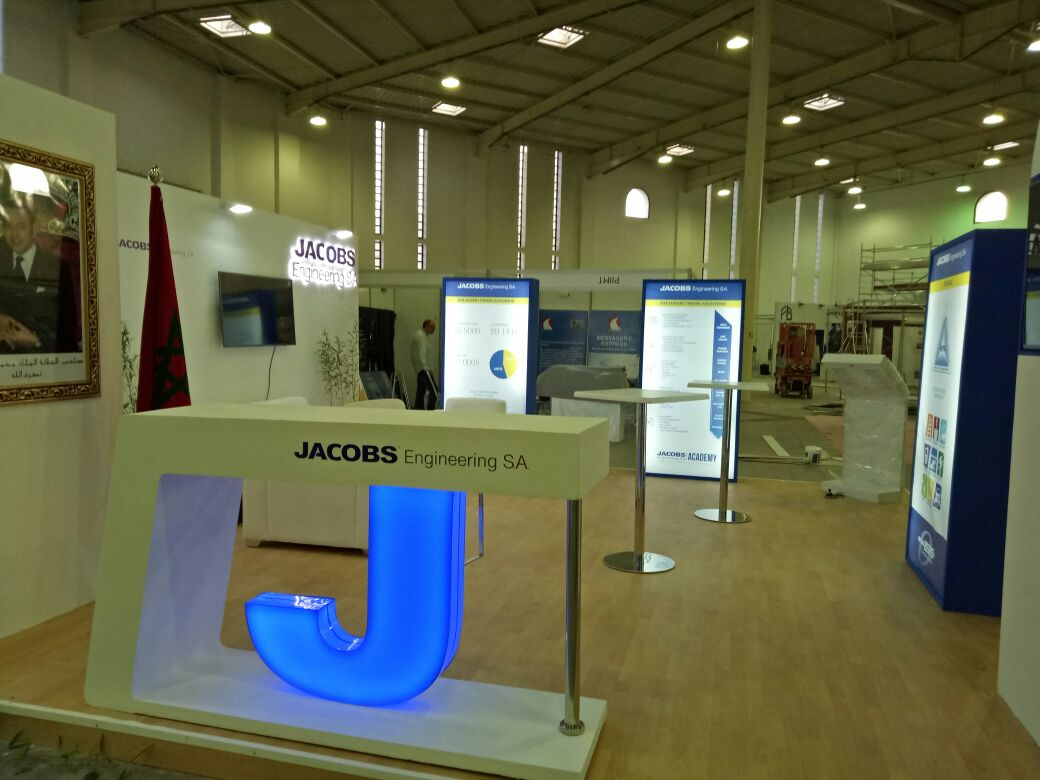 jacobs engineering booth in salon pr233ventica newcom agency