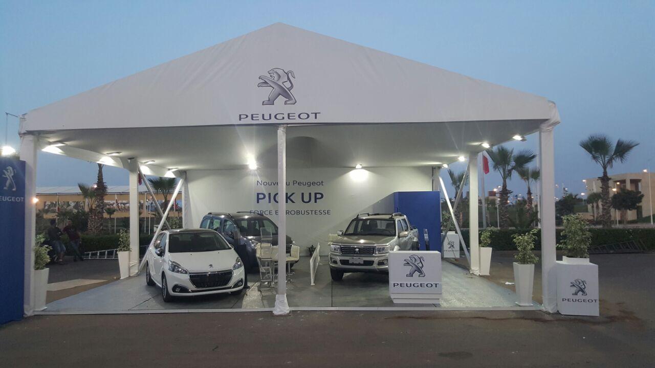 Peugeot exhibition at salon du cheval in el jadida for Salon du cheval montpellier 2017