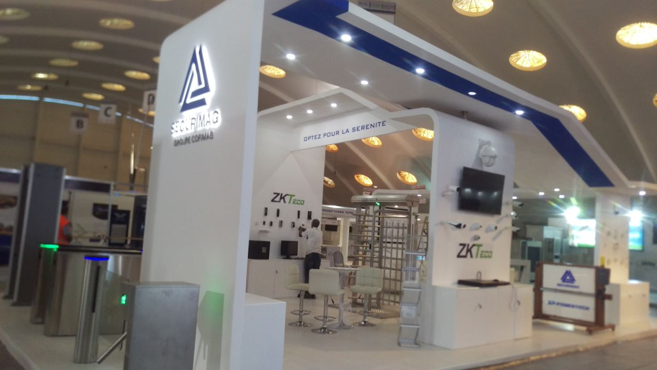 Index newcom agency for Maquette stand